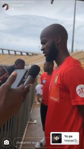 Lamkel Zé beleeft de tijd van zijn leven bij nationale ploeg Kameroen