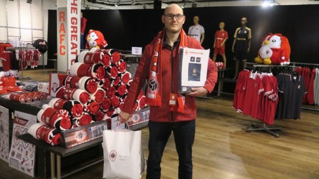 Antwerp opent tijdelijke fanshop in Wijnegem Shopping Center: