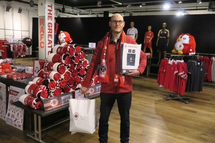 """Antwerp opent tijdelijke fanshop in Wijnegem Shopping Center: """"Collectie is flink uitgebreid"""""""