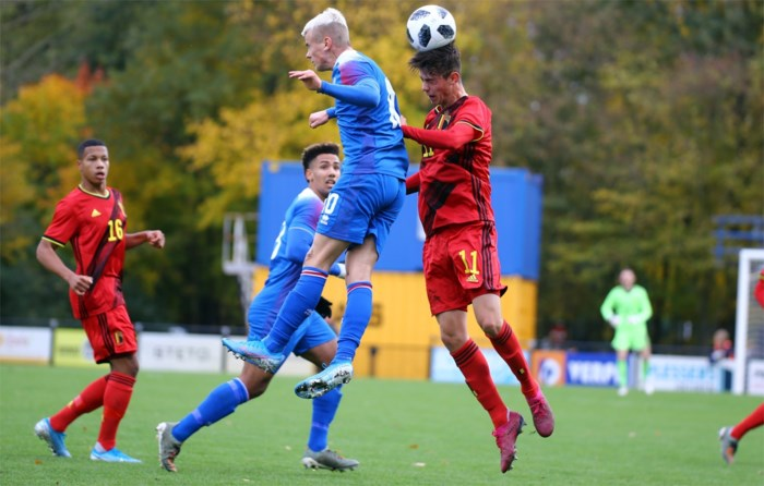 KV-jonkie Vranckx wint met U19 Rode Duivels van IJsland
