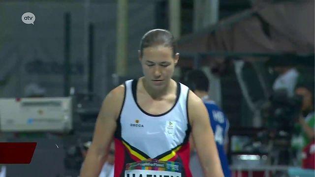 Zilver voor Gitte Haenen op WK para-atletiek in Dubai - Gazet van Antwerpen