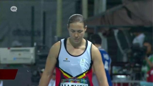 Zilver voor Gitte Haenen op WK para-atletiek in Dubai