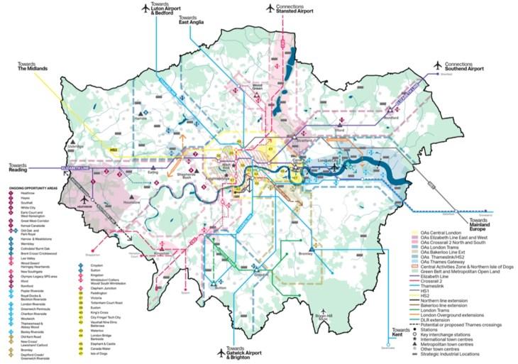 COLUMN. London calling: goede mobiliteit start bij goede ruimtelijke ordening