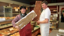 Bakker Guy maakt speculaas in vorm van minstens 200 jaar oud