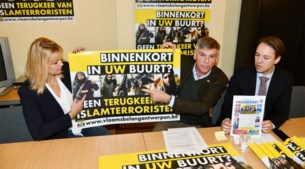 """Vlaams Belang start campagne tegen terugkeer van IS-strijders: """"Ze horen niet thuis in onze stad, maar aan de galg"""""""