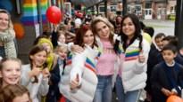 Sint-Cordulaschool geeft K3 warm welkom dat ze niet snel zullen vergeten