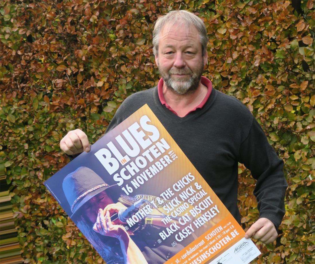Blues in Schoten strikt Casey Hensley (Schoten) - Gazet van Antwerpen