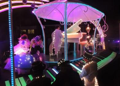 Feeërieke lichtstoet heet zaterdag Sinterklaas welkom
