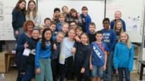Febe (11) zorgt voor blauwe golf in Sint-Johanna: bijna hele school geeft gevolg aan oproep voor Wereld Diabetes Dag