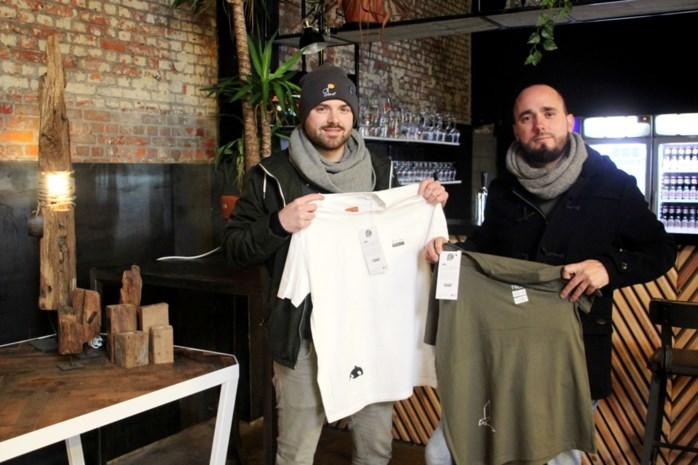 T-shirtontwerpers Yentel en Joren gaan met Enleaf voor 100% duurzaam