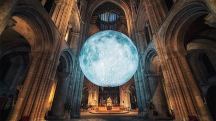 Indrukwekkende maanreplica te bewonderen in Sint-Rombouts