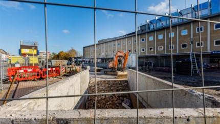 Doorsteek afgesloten voor bouw tijdelijk station