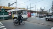 """Containers aan Tramplein """"onveilig voor fietsers"""""""