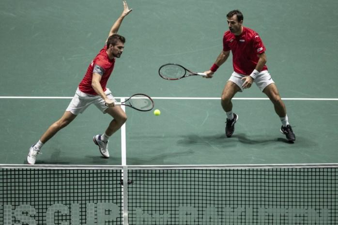 België stunt nog bijna in afsluitend dubbelspel in Davis Cup-zege tegen Colombia