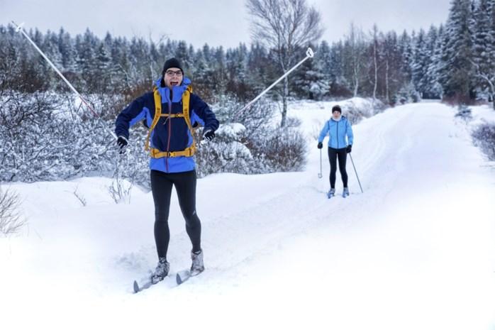 Eerste sneeuw in Ardennen meteen 20 centimeter (maar hij blijft niet liggen)