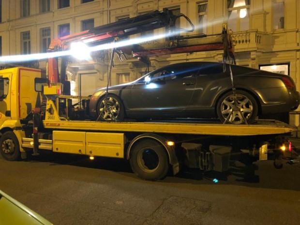 Luxeauto getakeld tijdens actie nadat bestuurder voor 20.000 euro aan boetes opstapelde