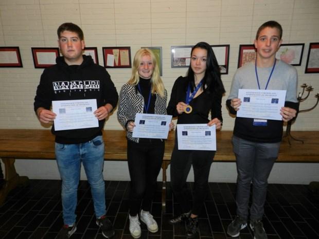 Leerlinge VTI Spijker wint gouden medaille tijdens Europese hotel- en toerismewedstrijd