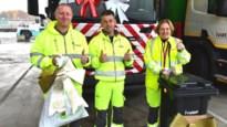 """Bedank afvalophalers met strik aan vuilniszak: """"Werken in een fietsstad maakt onze taak niet gemakkelijker"""""""