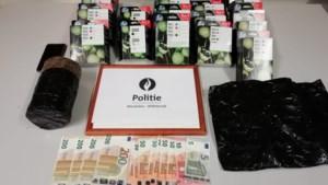 Politie klist dieventrio met partij inktpatronen en cash