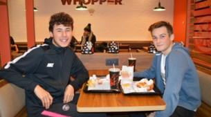 Nieuwe Burger King is onverwacht succes, maar omliggende frituren niet ongerust