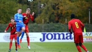 Belgische U19 met Vranckx (KV Mechelen) en Vaesen (Westerlo) met 9 op 9 naar Eliteronde EK