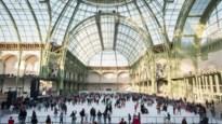 In Grand Palais in Parijs opent grootste indoor schaatspiste de deuren
