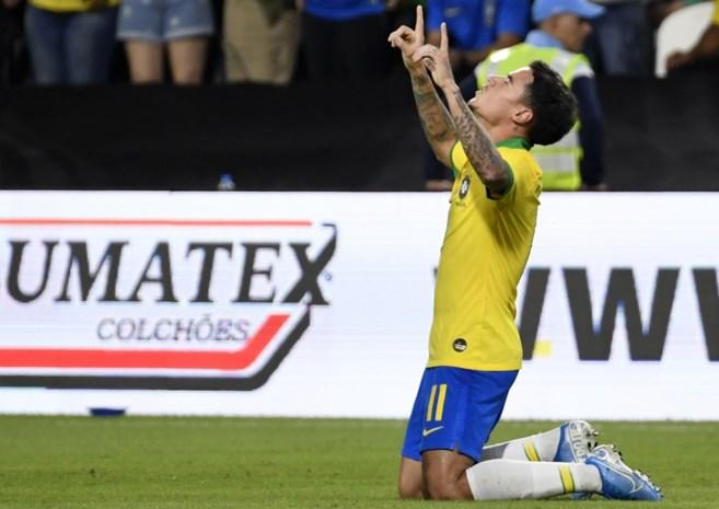 Brazilië boekt vlotte oefenzege tegen Zuid-Korea