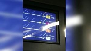 Rijden er spooktrams in Antwerpen? Vlak voor aankomst verdwijnen ze op infobord