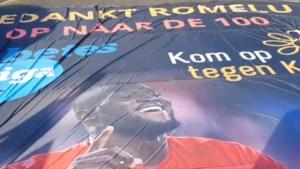 Kom op tegen Kanker bedankt Romelu Lukaku met tifo voor gratis tickets