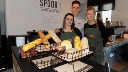 Spoor 1 serveert broodjes en pasta's in oud stationsgebouw van Tielen