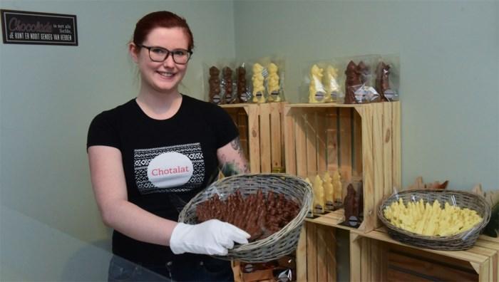 Charlotte opent chocoladewinkel Chotalat