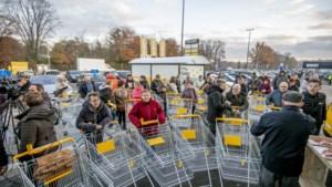 Massa volk op opening eerste Jumbo-supermarkt in provincie Antwerpen