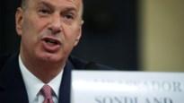 EU-ambassadeur brengt Donald Trump in nauwe schoentjes