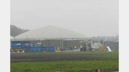 Luide knal door ontploffing in silo met biogas
