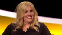 Stand-upcomedian Amelie Albrecht (26) is haar sarcastische zelf in 'De Slimste Mens'