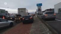Bestuurders gebruiken parkings bedrijven A12 als sluipweg