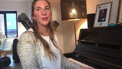 Finaliste Daisy van Lions World Songfestival for Blinds brengt voor ons live-versie van eigen lied