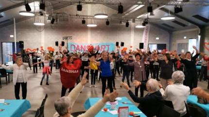 Derde keer Danshart: moe maar tevreden na tien uur dansen