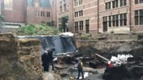 Archeologisch onderzoek achter stadhuis brengt Romeins en middeleeuws Antwerpen weer naar boven