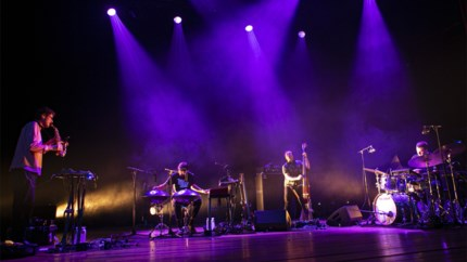 Portico Quartet verrast in De Roma:  ontdekkingsreizigers zonder landkaart