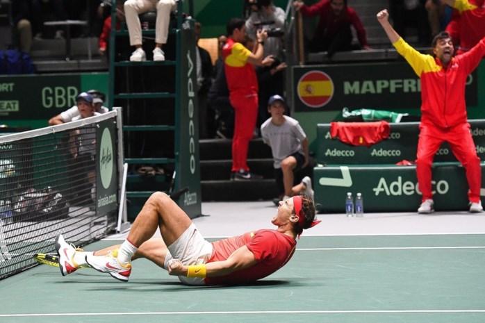 Spanje naar finale Davis Cup na winst tegen Groot-Brittannië