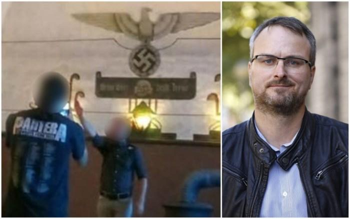 """Man die Hitlergroet bracht in Breendonk is zoon van Antwerps oud-gemeenteraadslid: """"Het was een kwajongensstreek"""""""