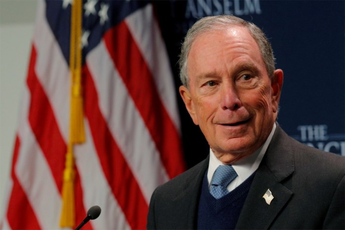 Miljardair Mike Bloomberg stapt in race om presidentschap VS en zet eigen fortuin in voor campagne