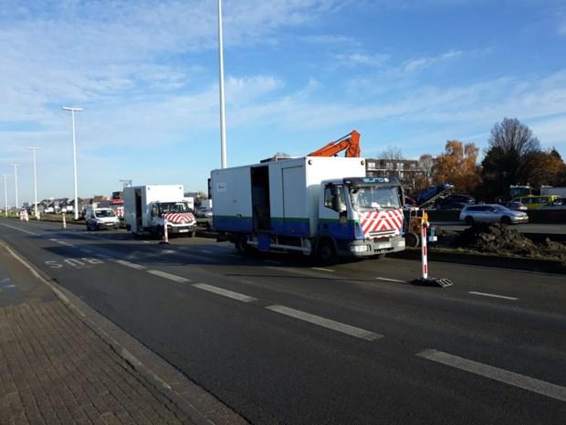 A12 richting Brussel even volledig afgesloten door gaslek