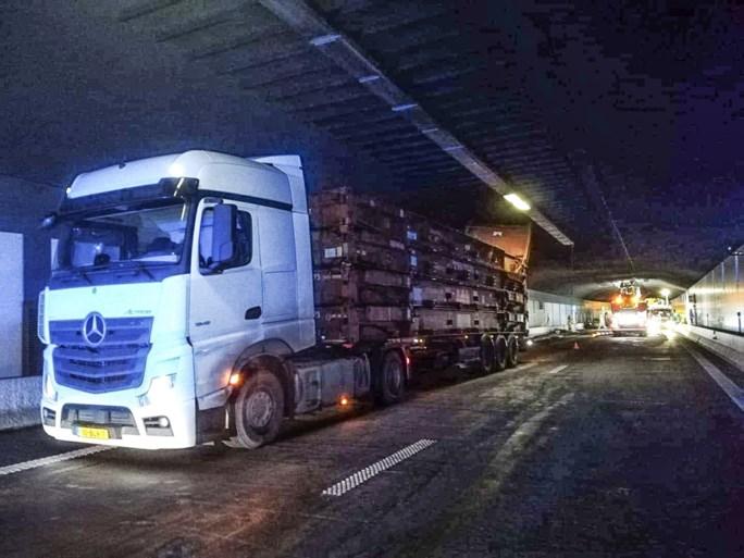 Beverentunnel op Antwerpse Ring weer open na noodherstelling