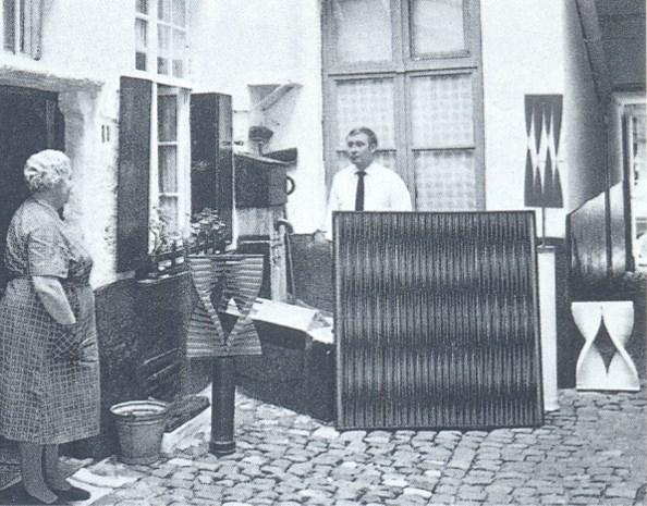 In 1986 verongelukte Antwerpse kunstenaar Walter Leblanc hangt in Tate Modern