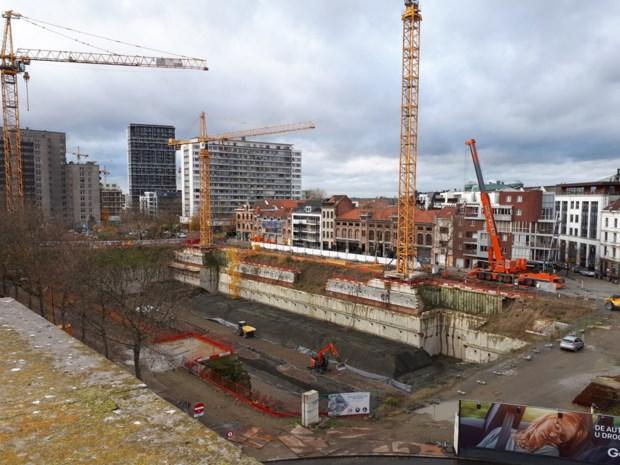 Werken ondergrondse parking Gedempte Zuiderdokken hervat