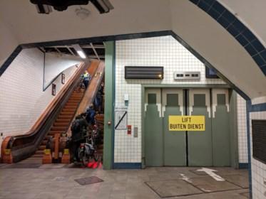 Geen enkele aannemer wil liften van voetgangerstunnel renoveren
