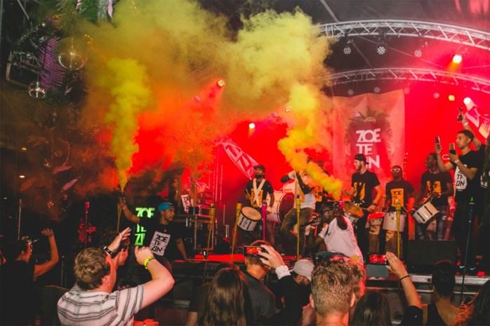 Tropische feeststorm brengt latin vibes naar club Ikon