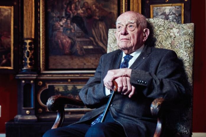 """Advocaat Lionel Tricot is al jarenlang de onbetwiste nummer 1 van de Antwerpse balie: """"Ik oud? Ik ben pas 98"""""""
